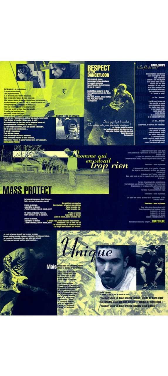 Mass Hysteria / Le bien-être et la paix / Sony Music (1997)